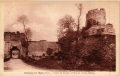 Chateau sur Epte - Ruines du Donjon et Porte de l'ancien... - Château-sur-Epte