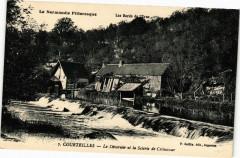 Courteilles - Le Déversoir et la Scierie de Crévecoeur - Courteilles