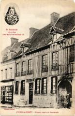 De Benserade 1612-1691 Lyons-la-Foret Maison natale de Benserade - Lyons-la-Forêt