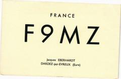 France F 9 M Z Jacques Eberhardt - Dardez-par-Evreux - Dardez