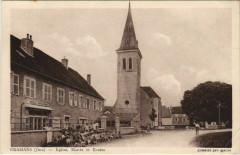 Cramans - Eglise Mairie et Ecoles - Cramans