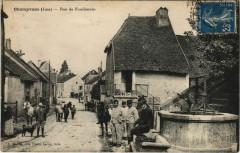 Champvans - Rue de Foucherans - Champvans