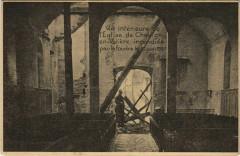 Chevigny En Valiere - Vue interieure de l'Eglise incendiée - Chevigny