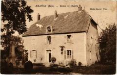 Amange- Ecole et Mairie France- - Amange