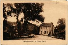Aromas- La Poste et l'Eglise France - Aromas