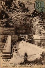Bourg de Sirod- Battage bydraulique, entree du Tunnel France - Sirod