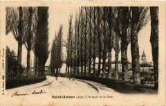 Saint-Amour L'Avenue de la Gare - Saint-Amour