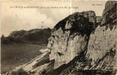La Chaux du Dombief Les Rochers et le Pic de l'Aigle - La Chaux-du-Dombief