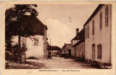 Champvans Rue de Fondrizain - Champvans