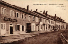 Longchaumois Place Centrale - La Poste - Longchaumois
