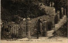 Lavigny Pélérinage de N.-D. De la Salette La Vierge en pleurs - Lavigny