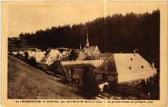 La Chartreuse de Portes - La grande ferme au premier plan - Bénonces