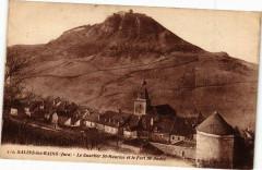 Salins-les-Bains-Le Quartier Saint-Maurice et le Fort Saint-Andre - Saint-Maur