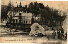Chateau de Jeurre - Ruines du Pont - Jeurre