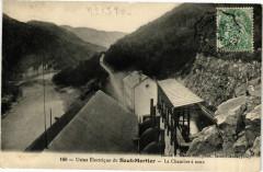 Usine Electrique du Saut-Mortier - La CHAMBONre a eaux - Lect