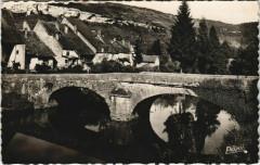 Ornans - Pont de Nalim et la Roche - Ornans