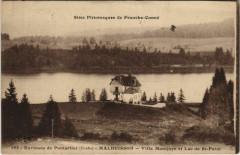 Malbuisson - Villa Montjoye et Lac de Saint-Point - Malbuisson
