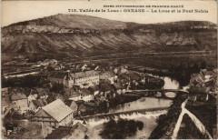 Ornans - La Loue et le Pont Nahin - Ornans