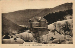 Jougne - Modern Hotel en hiver - Jougne