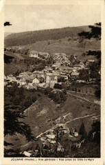 Jougne - Vue générale - Vue prise de Cote-la-Myre - Jougne