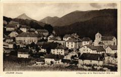 Jougne - L'AiGUILLON et le Mont-Suchet - Jougne