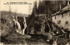 Cascade de la Source Bleue - Bief-mi-lac - Bief