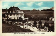 Jougne - Le Modern Hotel - Les terrasses - Jougne
