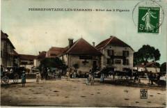 Pierrefontaine-les-Varrans - Hotel des 3 Pigeons - Fontain