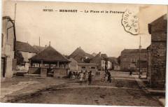 Membrey - La Place et la Fontaine - Fontain