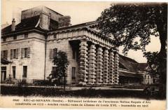 Arc-et-Senans - - Batiment intérieur de l'ancienne Saline - Arc-et-Senans