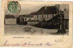 Arc-Senans - La Place - Nans