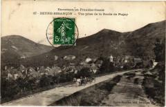 Beure - Besancon - Vur prise de la Route de Pugey - Beure