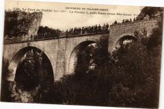 Le Pont du Diable (haut 54m) -Le Crouzet,prés Nans sous Sainte-Anne... - Nans