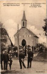 Arc-Senans - Bénédiction de la Chapelle - Nans