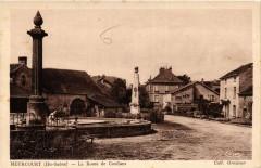 Meurcourt - La Route de Conflans - Meurcourt