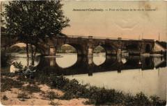 Annoncourt-Conflandey - Pont su Chemin de Fer sur la Lanterne - Conflandey