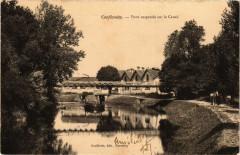 Conflandey - Pont Suspendu sur le Canal - Conflandey
