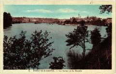 Port-sur-Saone - La Saone et la Rezelle - Port-sur-Saône