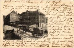 Port-sur-Saone - Hotel-de-Ville - Pont sur le Canal - Port-sur-Saône