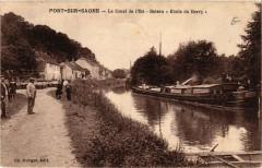 Port-sur-Saone - Le Canal de l'Est - Bateau Etoile du Berry - Port-sur-Saône