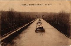 Port-sur-Saone - Le Canal - Port-sur-Saône
