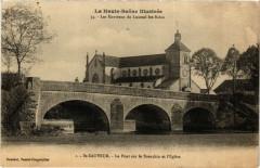 Saint-Sauveur - Le Pont sur le Breuchin et Eglise - Saint-Sauveur