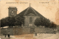 Blondefontaine - Eglise Octogone - Blondefontaine