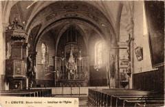 Choye - Intérieur de Eglise - Choye