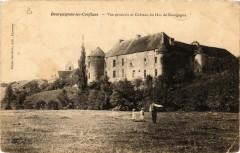 Bourguignon-les-Conflans - Vue générale et Chateau du Duc - Bourguignon-lès-Conflans