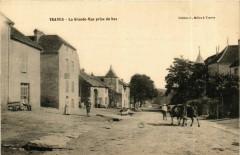 Traves La Grande Rue prise du bas - Traves