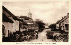 Vy-le-Ferroux Rue de l'Etang - Vy-le-Ferroux