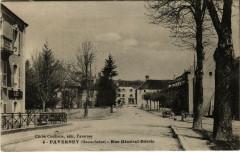 Faverney Rue Général-Détrie - Faverney