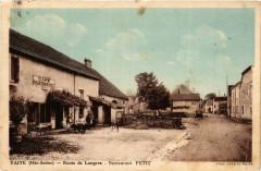 Vaite - Route de Langres - Restaurant Petit - Vaite