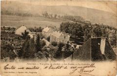 Faverney - Vue prise du clocher - Les Ecoles - La Goulotte - Faverney
